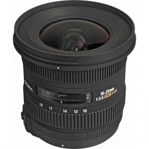 Lente Sigma 10 20mm f 3.5 EX DC HSM (Nikon)
