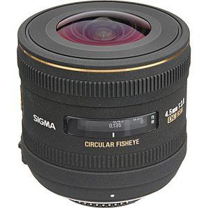 Lente Sigma 4.5mm f 2.8 EX DC HSM (Nikon)