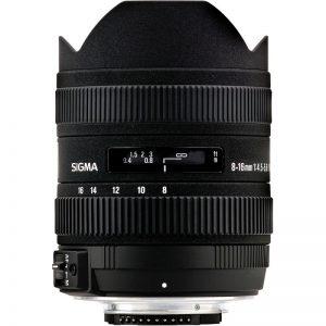 Lente Sigma 8 16mm f 4.5 5.6 DC HSM (Nikon)