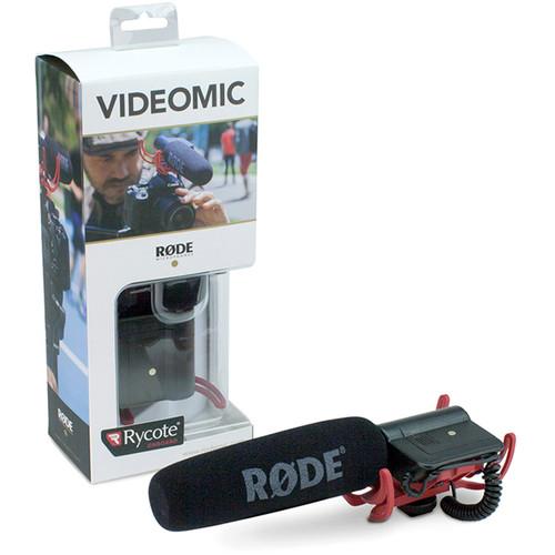 Microfone RODE VideoMic – Caixa