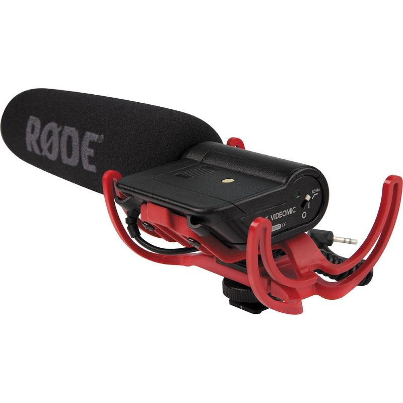 Microfone RODE VideoMic – Detalhes