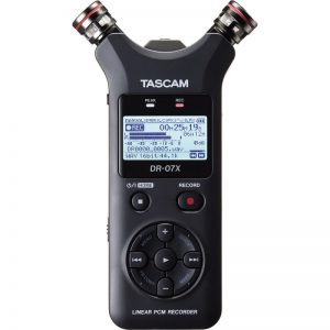 Gravador Tascam DR-07X