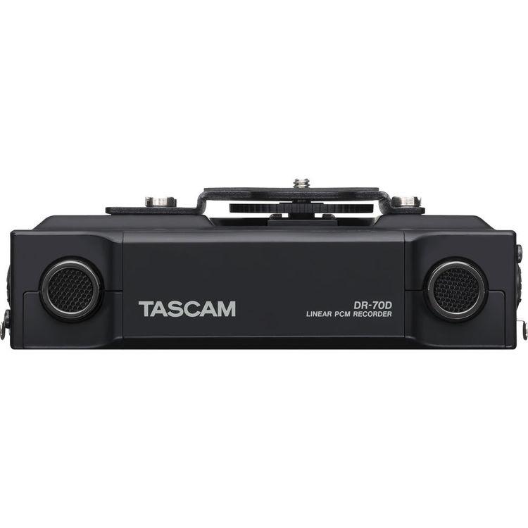 Gravador Tascam DR-70D – Detalhes