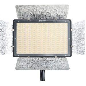 Iluminador Led Yongnuo YN1200 + Fonte